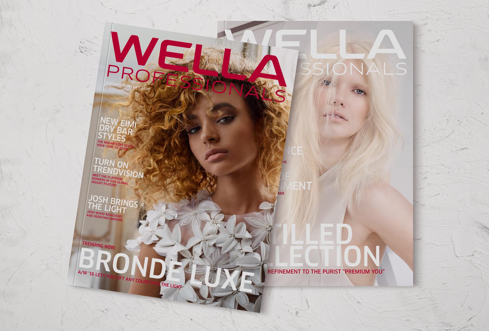 Wella Professionals magazines